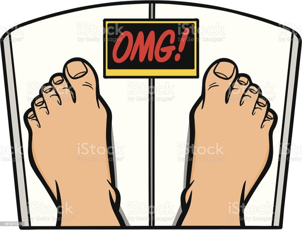 Weight Loss Omg Stock Vector Art More Images of Bathroom