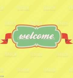 welcome label royalty free welcome label stock vector art amp more images of animal [ 1024 x 1024 Pixel ]