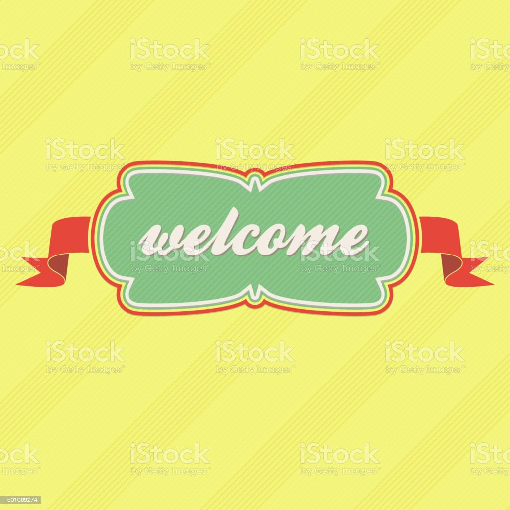 hight resolution of welcome label royalty free welcome label stock vector art amp more images of animal