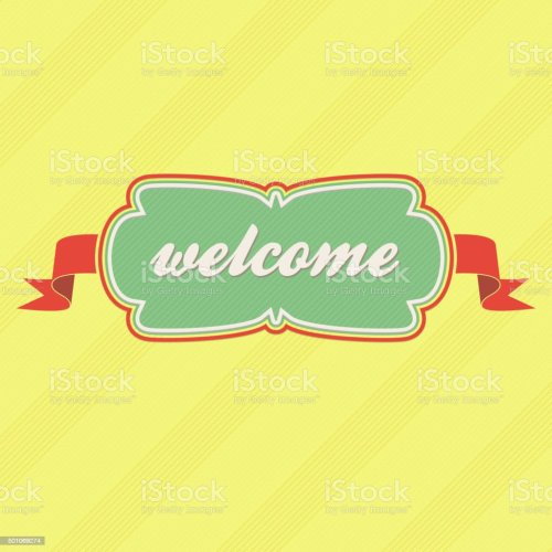 small resolution of welcome label royalty free welcome label stock vector art amp more images of animal