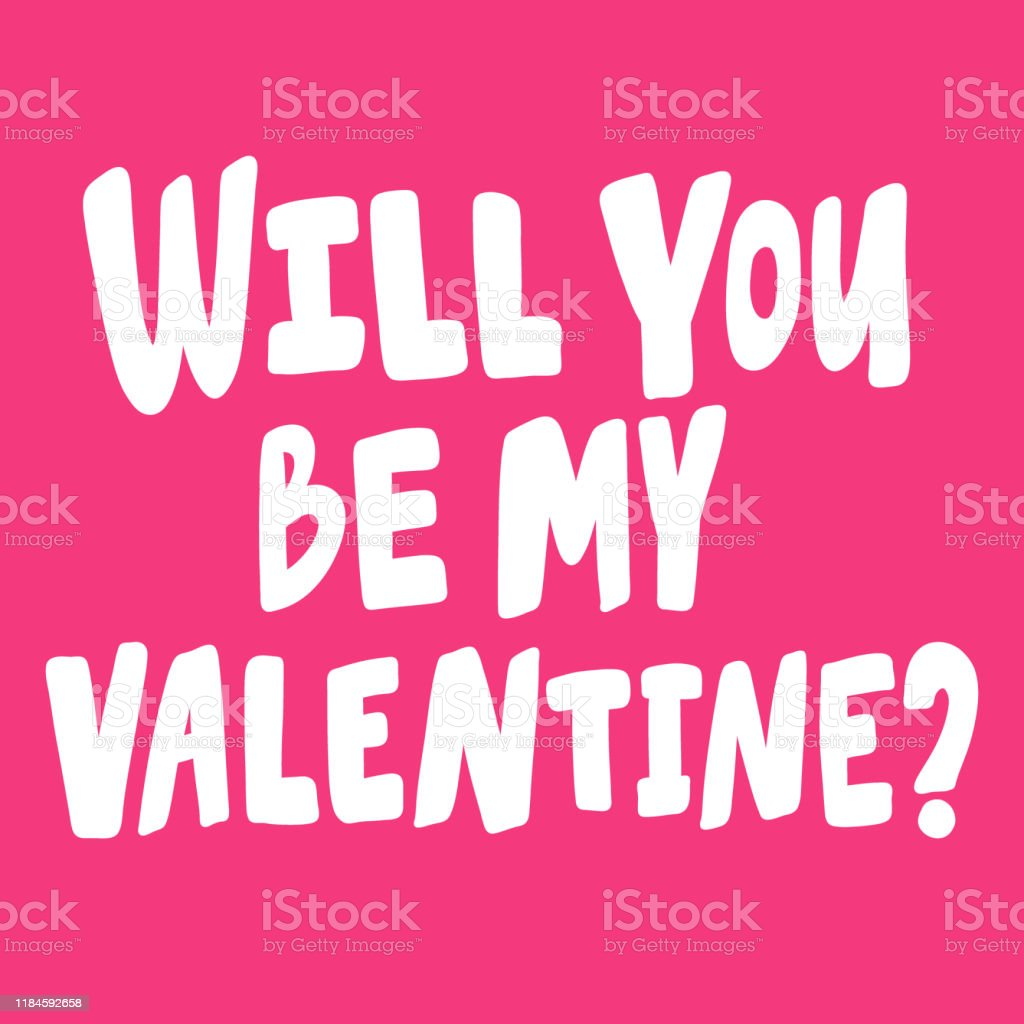 82 will you be my valentine drawing illustrations clip art istock