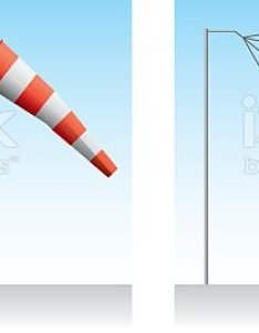 Windsock wind speed royalty free stock vector art  amp more images also of air vehicle rh istockphoto
