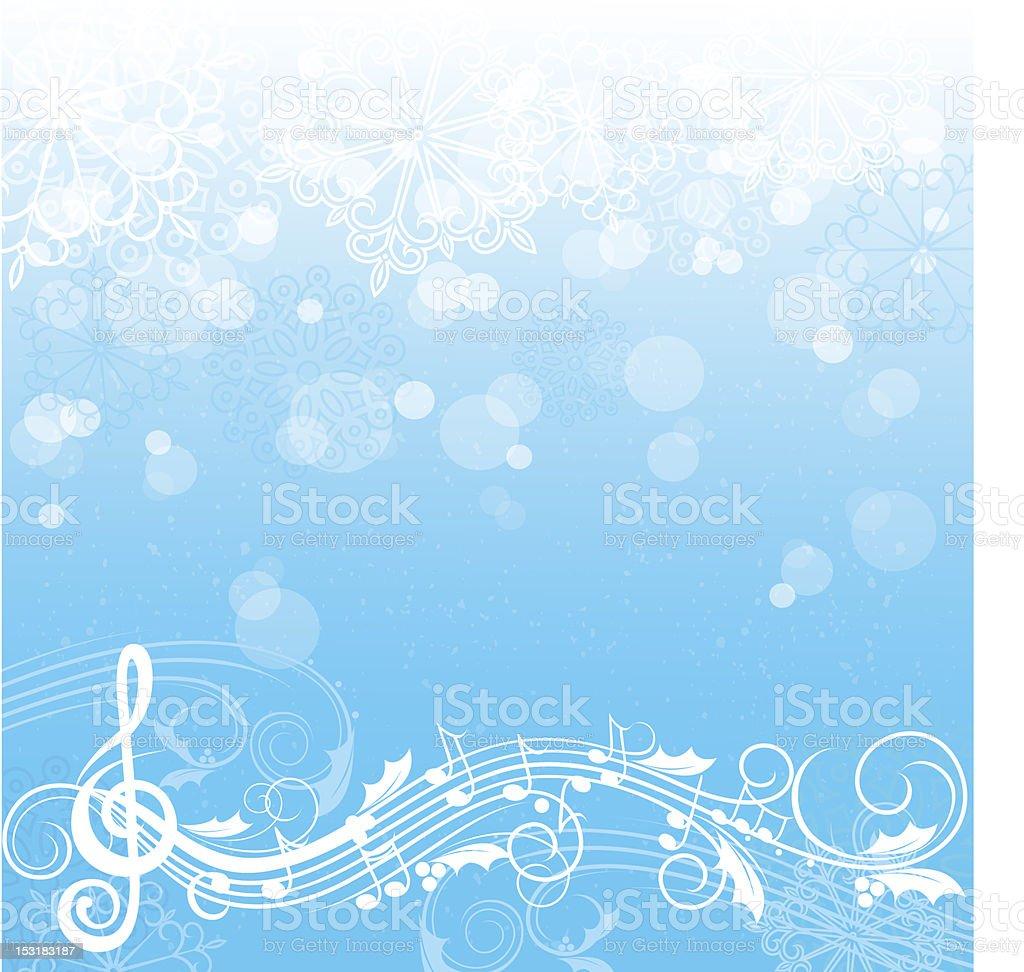 winter music illustrations