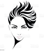 women short hair style icon