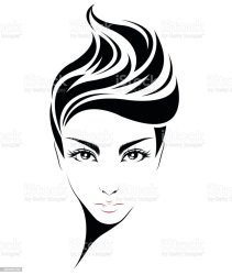 hair short icon vector background clip abstract illustrations vectors illustration