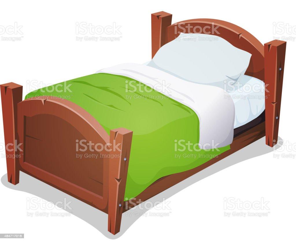 royalty free bed clip art vector