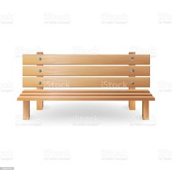 Tell City Chairs Pattern 4222 Chair Covers Jackson Ms Wooden Bench Realistic Vector Illustration Single Park On White