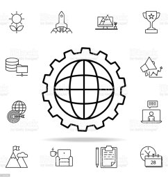world mechanism icon startup icons universal set for web and mobile royalty free world [ 1024 x 1024 Pixel ]