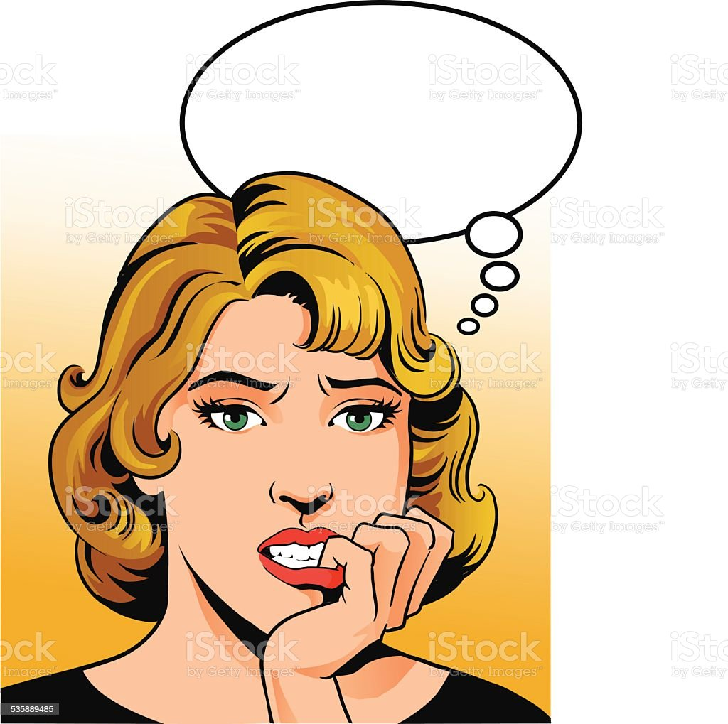 Worried Clip Art Vector Images Illustrations iStock