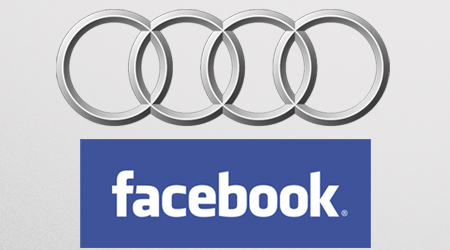 "Audi, marque la plus ""engageante"" sur Facebook"