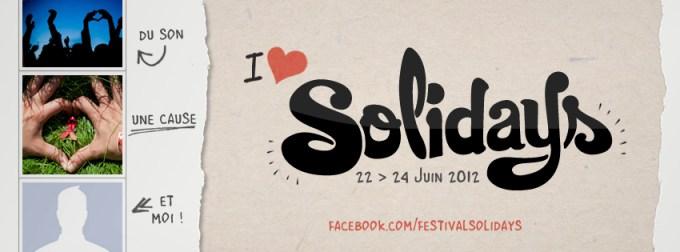 Le visuel Solidays pour votre Facebook Timeline (Cover)