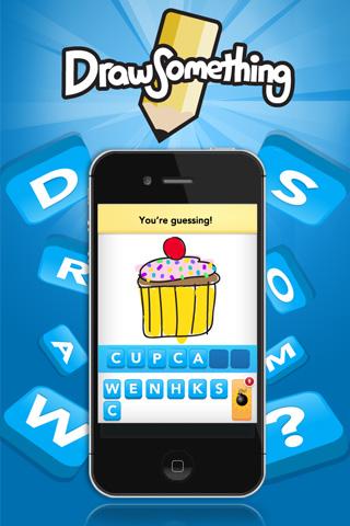 Draw Something : le mot à deviner est dessiné par un joueur