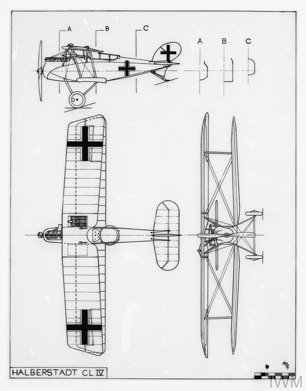 TECHNICAL DRAWINGS OF THE FIRST WORLD WAR AIRCRAFT (Q 68289)