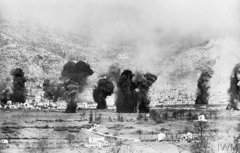 THE BATTLE OF CASSINO JANUARYMAY 1944  Imperial War Museums