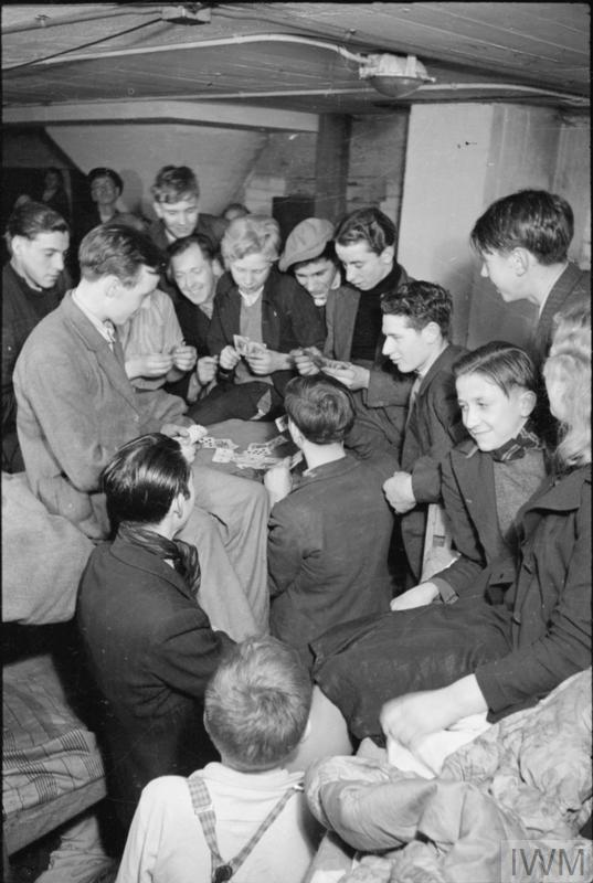 Life In An Air Raid Shelter South East London England