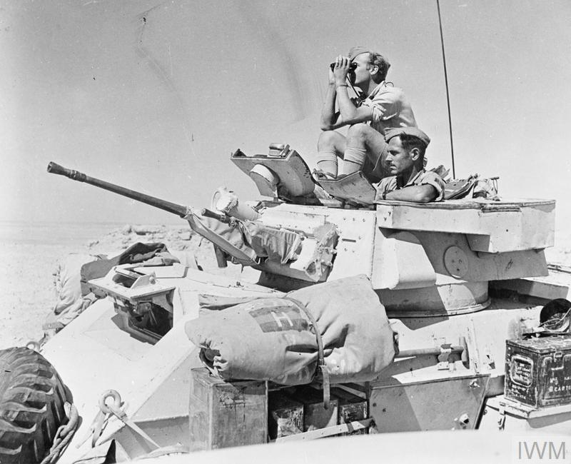 The British Army In North Africa 1942 E 15509