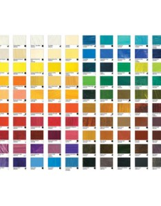 Williamsburg oil paint printed colour chart also jackson   art supplies rh jacksonsart