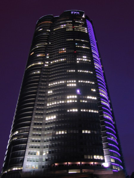 Mori Tower at Roppongi Hills. Source.