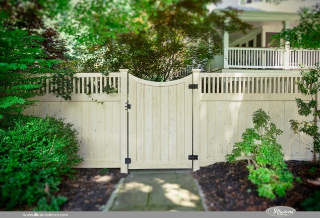 Accent Gates Make Fence Installs Look Great - Illusions ...