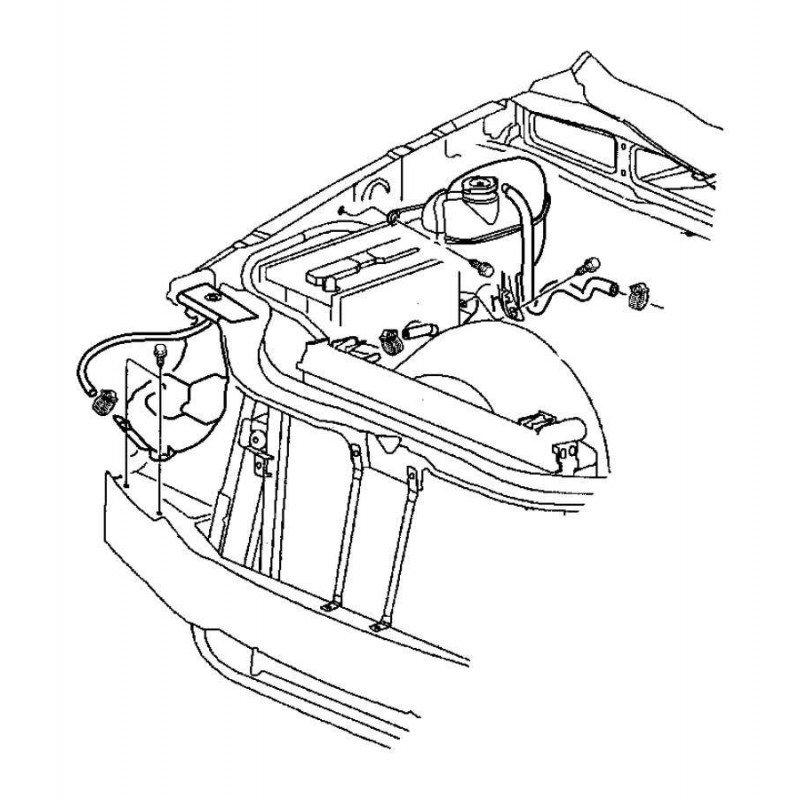Vase expansion secondaire Jeep Grand-Cherokee WJ 3,1L 2