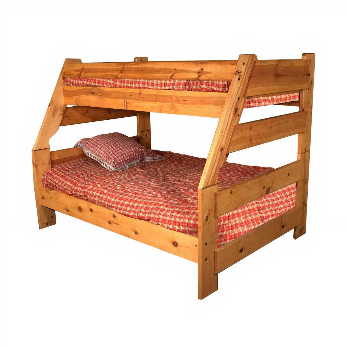 wrangler twin over full bunk bed