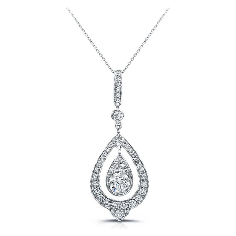 Hurdle's Jewelry: Beverley K Teardrop Diamond Pendant