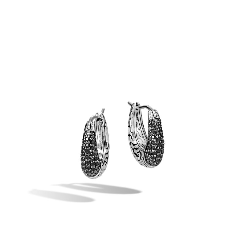 JOHN HARDY Classic Chain Hoop Earring in Silver with