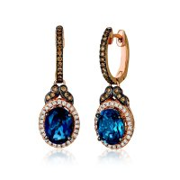 Emerald Lady Jewelry: Le Vian 14K Strawberry Gold Earrings
