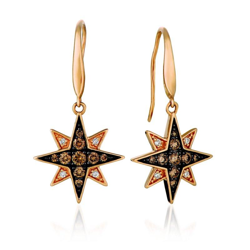 Sartor Hamann: Le Vian 14K Strawberry Gold Earrings