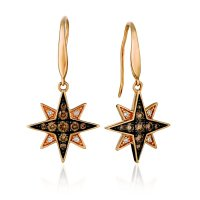 Sartor Hamann: Le Vian 14K Strawberry Gold Earrings