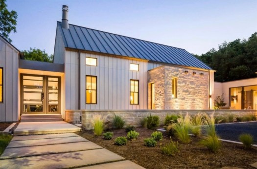 House with Solar Roofing