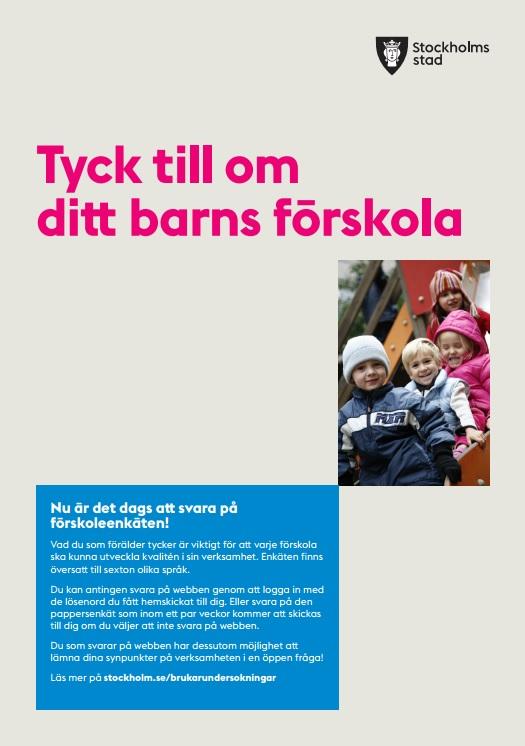 stockholm stad förskola logga in