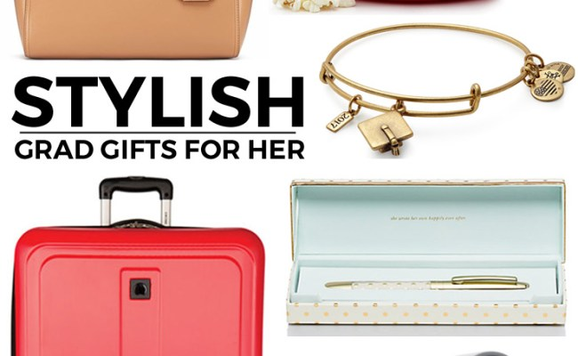 Stylish Graduation Gifts For Her