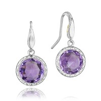 Tacori Lilac Blossoms Amethyst Dangle Earrings