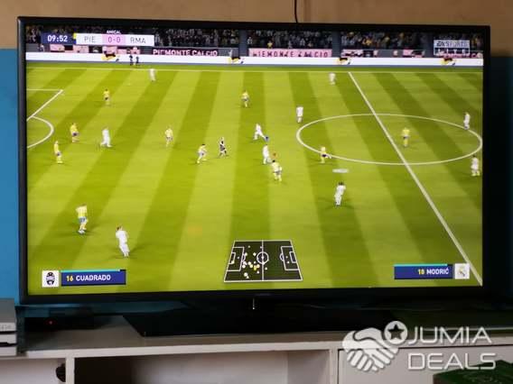 samsung smart tv 43pouce ecran slim resolution super full hd avec decodeur tnt integre