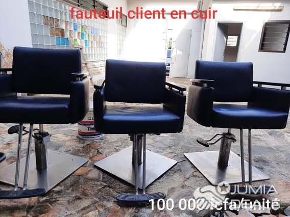 materiels de beaute et de grands fauteuil pour salon de coiffure
