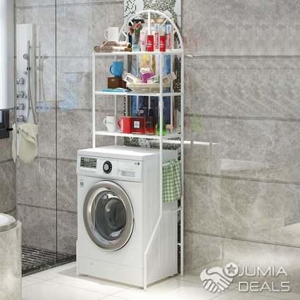 rangement toilettes ou lave linge