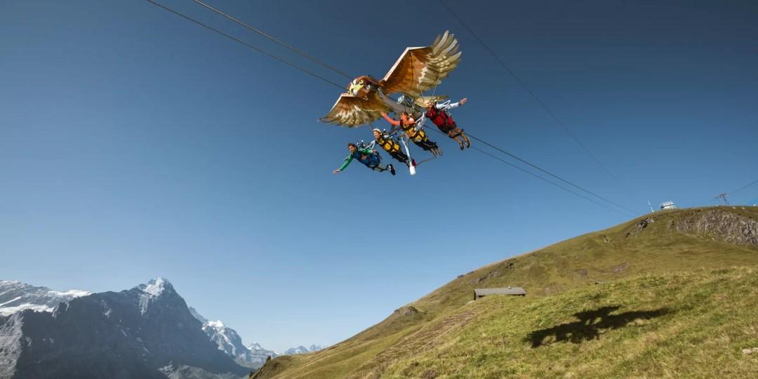 First Glider Grindelwald First