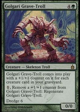 [Image of Golgari Grave-Troll]