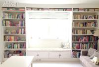 Built-In Bookshelves with a Window Seat - How to Build a ...