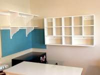 Craft Room Organization and Storage | Cubby Shelves ...