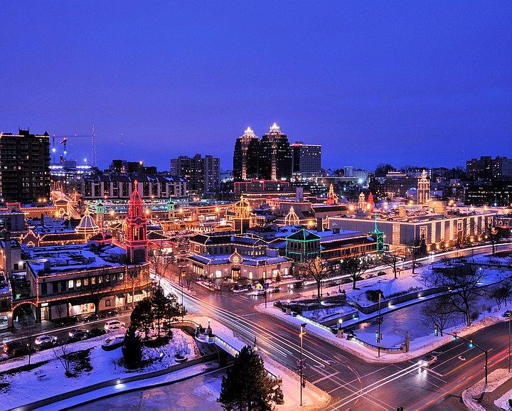 Kc Plaza Lights Kansas City