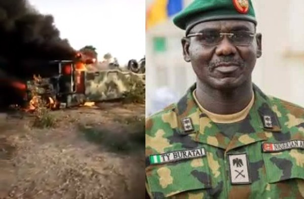 Nigerian Army Reacts To Viral Video Of Soldiers Cursing Buratai ...