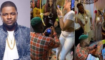 Skales Announces He Is Getting Married Soon To His Rwandan Girlfriend, Neza [Video]   Kanyi Daily News