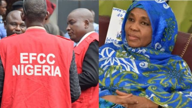 EFCC Nigeria Arrests Governor Ganduje Wife After Her Son Reported Her Over Fraud   Kanyi Daily News