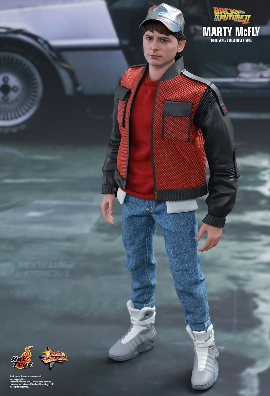 Hot Toys Back To The Future Part Ii Marty Mcfly 1 6th