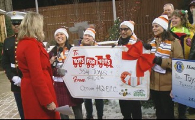 Toys For Tots Minneapolis Mn Kare11