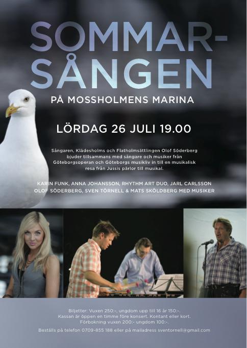 Affisch Sommarsången