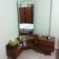 Vintage Teak Dressing Table With full Length Mirror ...