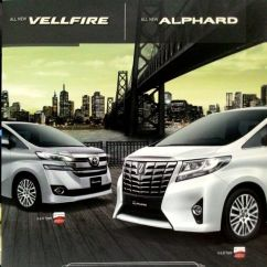 Toyota All New Alphard 2015 Camry 2018 Malaysia Open Indent Allnew And Vellfire Cars On Carousell